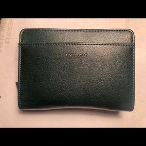 Matt & Nat Webber Wallet in Emerald (SM)